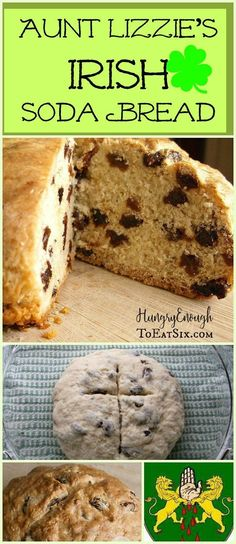 This Irish Soda Bread is a traditional recipe handed down through my family. It's a soft, moist loaf with flavors of raisin and caraway seed.