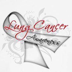 Awareness Lung Cancer Men's Sleeveless Tee