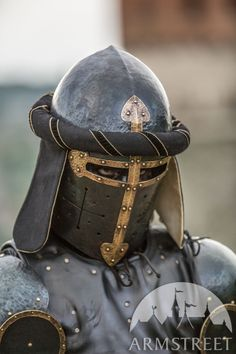 ArmStreet - The Wayward Knight - XIV century style - Medieval store Medieval Knight, Medieval Armor, Medieval Fantasy, Crusader Knight, Knight Armor, Draw Tips, Ancient Armor, Medieval Helmets, Knights Helmet