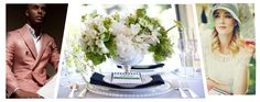 Posh Couture Rentals: Toast: The Kentucky Derby Silver Beaded Chargers, mint juleps, traditional tabletop,