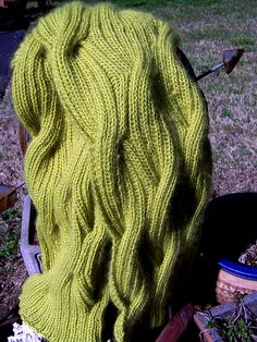 Free Pattern: Winding River Cowl by Kathleen Cubley