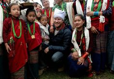 Prince Harry stays with local family during his trip to Nepal