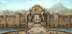 City Gates by Baahubali.deviantart.com on @DeviantArt