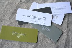 i like the shape, texture, & size of these cards.