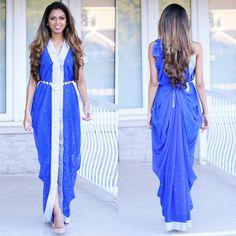 Tia's dress drape #dressdrape #saree #sari Instagram: @tiabhuva Website: www.tiabhuva.com