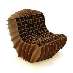 cardboard furniture.....@Melissa Squires Araque me lo haces ? tu que aprendiste muy bien las tecnicas de cazares super lindo :9