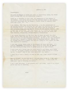 """Found letter from 1952: """"Every day, all over the world, mankind observes, religiously, fifteen minutes of hate Alice."""""""