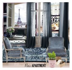 """""""Paris Apartment"""" by nicolevalents ❤ liked on Polyvore featuring interior, interiors, interior design, home, home decor, interior decorating, Mohawk and New Look"""