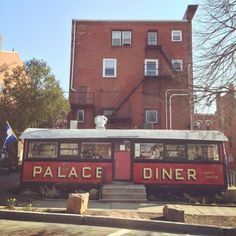 11 Restaurants In Maine That Are Hard To Get In But Totally Worth It --- pictured The Palace Diner, Biddeford Tampa Restaurants, Unique Restaurants, Log Inn, French Quarter Restaurants, Columbia Restaurant, Road Trip Destinations, Winter Camping, Places To Eat, That Way