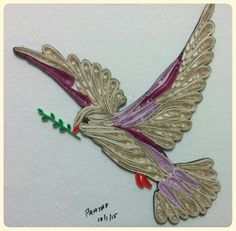 Quilled dove.