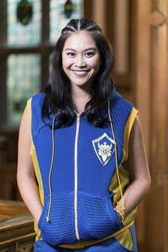 Lonnie is a character in the movie Descendants, played by Dianne Doan. She is the daughter of Fa Mulan and Li Shang who enjoys martial arts and hip-hop dancing. Unlike most Auradon kids, she is much more open-minded about having the four wicked descendants attend their school, and is sympathetic to their plight. Compared to the other kids, she is the most normal.