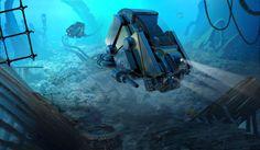 - Jellyfish of exploration - https://www.facebook.com/artofremidubois http://remidubois.tumblr.com/ http://remidubois.deviantart.com/