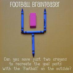Come Together Kids: Football Brainteaser