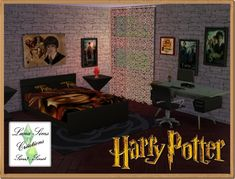 Ensemble chambre Harry Potter - Luna Sims