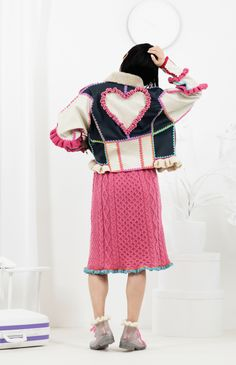 Katie Jones Knit and Crochet Fashion – Let Them Eat Cake