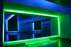 LEDs as a way of visually deconstructing wall planes Light Architecture, Sustainable Architecture, Amazing Architecture, Interior Architecture, Studio Lighting, Neon Lighting, Lighting Design, Tom Dixon Lighting, Shocking Blue