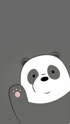 we bare bears panda Cute Panda Wallpaper, Bear Wallpaper, Emoji Wallpaper, Cute Disney Wallpaper, Wallpaper Iphone Disney, Kawaii Wallpaper, We Bare Bears Wallpapers, Panda Wallpapers, Cute Cartoon Wallpapers
