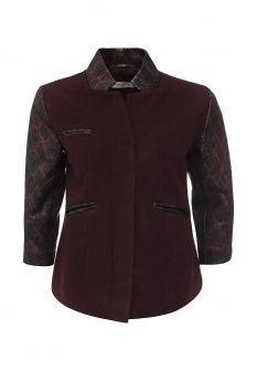 Куртка Steven-K выполнена из драпа и натуральной кожи ягненка. Детали: отложной воротник, объемные плечики, застежка на молнию, два внешних кармана на молнии, гладкая подкладка.