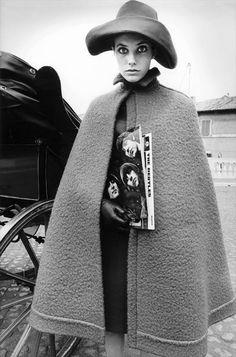 Jane Birkin by Jeanloup Sieff for Harper's Bazaar 1966. S)