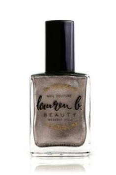 Los Angeles-based line Lauren B.'s just-released metallic silver is a very unique shade. It almost l... - Provided by Refinery29