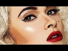 Photoshop: How to Make a Comic Book, Pop Art, Cartoon from a Photo - YouTube