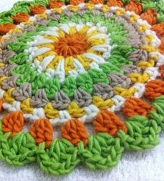 Crochet Mandala - Tutorial ❥ 4U // hf