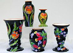 Czech pottery.  Courtesy of the official Web site of the  Czech Collectors Association  Dedicated to Austrian, Bohemian, and Czechoslovakian Decorative Arts.  www.czechcollectors.org