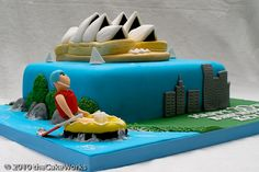 The Cake Works Australia Cake, Cake Works, Adult Party Themes, Butter Dish, Fondant, Opera House, Cakes, Dishes, Desserts
