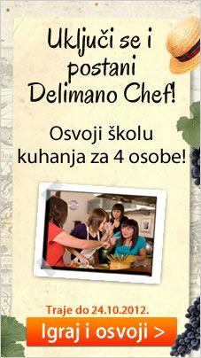 Uključi se i postani Delimano Chef!