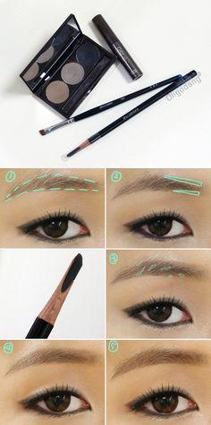 #oligodang #cosmetic #makeup #hair #K-beauty 올리고당 메이크업 아이브로우 눈썹그리기