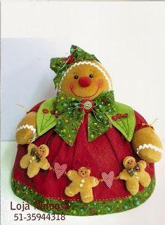 Syartes: Molde Cobre bolo de Natal