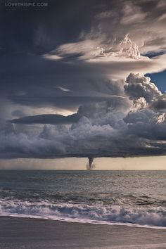 Ocean storm photography storm sky ocean clouds  nature