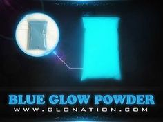 Mix with resin - pour in crack of table - Blue Triple Glow Powder