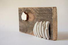 Bohemian home decor reclaimed wood art natural artwork [T023]