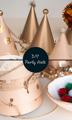 Maker Crate - Paper Party Hat DIY With Template