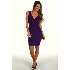 rsvp Jaylin Cocktail Dress Women's Dress - Purple