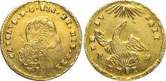 NumisBids: Numismatica Varesi s.a.s. Auction 65, Lot 537 : PALERMO - CARLO DI BORBONE (1734-1759) Oncia d'oro 1751, sigle P N....