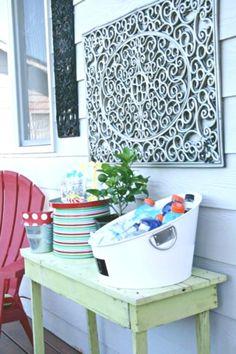 5ceba59be3 Sahara Printed Wood Tiles Wall Art - Set of 3 in 2019 | DIY | Patio wall  decor, Wood wall tiles, Outdoor wall art