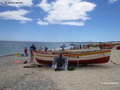 Calabria, costiera jonica: ancora un'altra estate a colori sulla spiaggia dei pescatori! Ph. Salvatore Martilotti