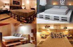 camas coloridas com paletes - Pesquisa Google