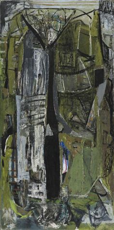 Peter Lanyon, St Just (1953) Oil on canvas 243.8 x 121.9 cm