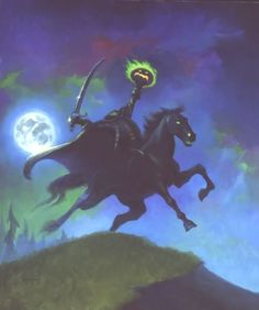 The Legend of Sleepy Hollow-- we started watching this when our kids were little- we still watch it every Halloween even if they are all grown up...ms