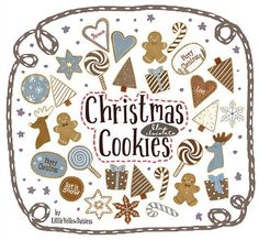 Christmas Cookies Clip Art in Blue and Brown (chocolate) for Holiday Cards, Crafts and Winter Creations. Digital Download Yellow Daisies, Christmas Clipart, Holiday Cookies, New Pins, Pastel Colors, Holiday Cards, Connect, Merry, Xmas