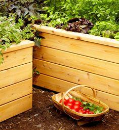 Build self watering planters (DIY) | Family Handyman Planter Beds, Cedar Planters, Diy Planter Box, Raised Planter, Diy Planters, Garden Planters, Herb Garden, Vegetable Garden, Succulent Planters