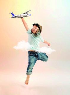 """""""Antes solo una compañía volaba entre las islas. Ahora puedes elegir"""". Imagen de la nueva campaña de comunicación de Canaryfly."""