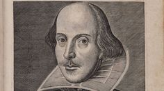 Portrait of William Shakespeare from the title page of the First Folio of Shakespeares plays. Copper engraving by Martin Droeshout, One of the earliest portraits of Shakespeare. William Shakespeare Citation, Shakespeare Facts, Shakespeare Plays, Shakespeare Portrait, Shakespeare Stories, First Folio, Famous Historical Figures, Famous Poets, Modern English