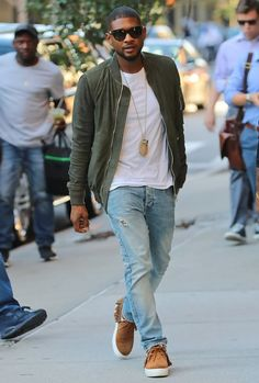 The Best Dressed Men Of The Week: Usher in New York. #bestdressedmen #usher
