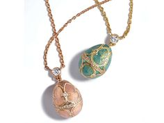 Faberge Egg #Jewelry is a Romantic Gift Option & Will Last a Lifetime trendhunter.com