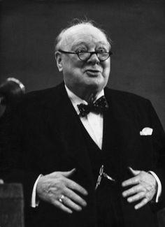 Marc Riboud // Churchill 1954                              …