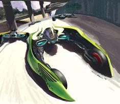 고장난 블로그 (잡다한 이슈거리) :: 2025년의 스포츠카!! 수륙공 전천후 컨셉카!!